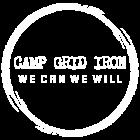 Camp grid iron circular logo